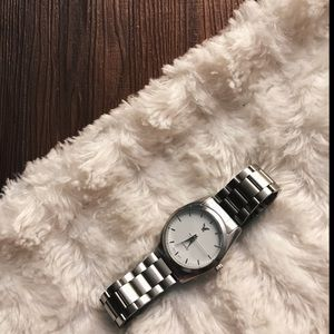 American Eagle Outfitters silver watch